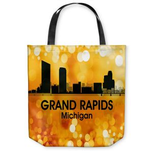 Unique Shoulder Bag Tote Bags | Angelina Vick - City lll Grand Rapids Michigan