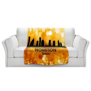 Artistic Sherpa Pile Blankets | Angelina Vick - City lll Houston Texas