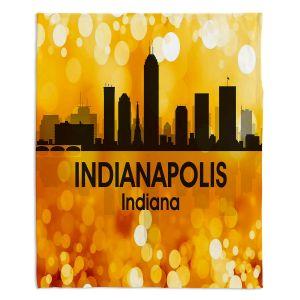 Decorative Fleece Throw Blankets | Angelina Vick - City lll Indianapolis Indiana