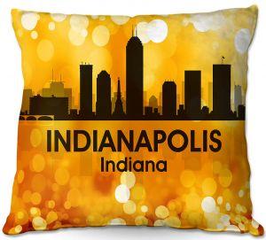Decorative Outdoor Patio Pillow Cushion | Angelina Vick - City lll Indianapolis Indiana