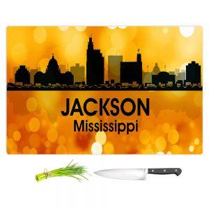 Artistic Kitchen Bar Cutting Boards | Angelina Vick - City lll Jackson Mississippi