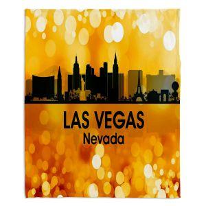 Decorative Fleece Throw Blankets | Angelina Vick - City lll Las Vegas Nevada