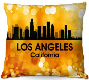 Throw Pillows Decorative Artistic | Angelina Vick - City lll Las Vegas Nevada