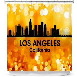 Premium Shower Curtains | Angelina Vick - City lll Las Vegas Nevada