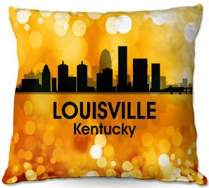 Decorative Outdoor Patio Pillow Cushion | Angelina Vick - City lll Louisville Kentucky