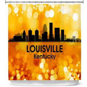 Premium Shower Curtains | Angelina Vick - City lll Louisville Kentucky
