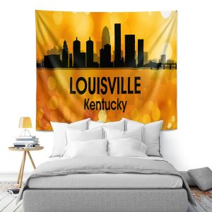 Artistic Wall Tapestry | Angelina Vick - City lll Louisville Kentucky