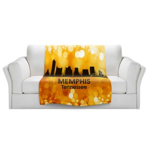 Artistic Sherpa Pile Blankets | Angelina Vick - City lll Memphis Tennessee