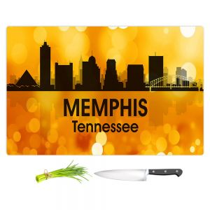 Artistic Kitchen Bar Cutting Boards | Angelina Vick - City lll Memphis Tennessee