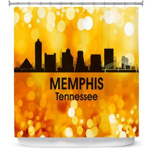 Premium Shower Curtains | Angelina Vick - City lll Memphis Tennessee