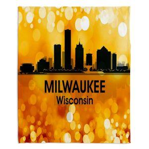 Decorative Fleece Throw Blankets | Angelina Vick - City lll Milwaukee Wisconsin