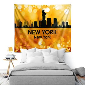 Artistic Wall Tapestry | Angelina Vick - City lll New York New York