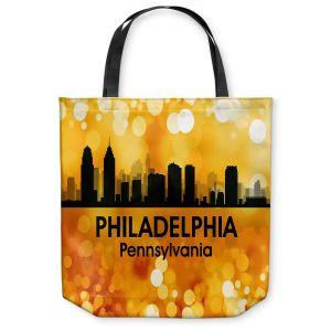 Unique Shoulder Bag Tote Bags   Angelina Vick - City lll Philadelphia Pennsylvania