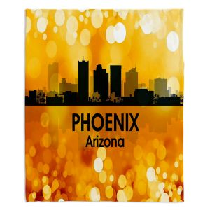 Decorative Fleece Throw Blankets | Angelina Vick - City lll Phoenix Arizona