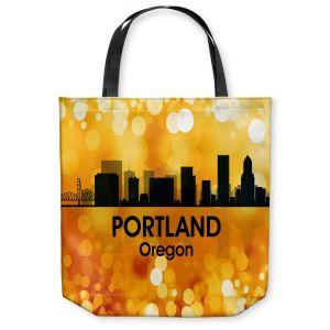 Unique Shoulder Bag Tote Bags   Angelina Vick - City lll Portland Oregon