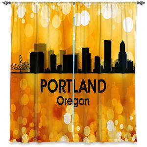 Decorative Window Treatments | Angelina Vick - City lll Portland Oregon