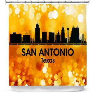 Premium Shower Curtains | Angelina Vick - City lll San Antonio Texas