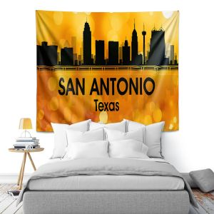 Artistic Wall Tapestry | Angelina Vick - City lll San Antonio Texas