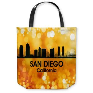 Unique Shoulder Bag Tote Bags | Angelina Vick - City lll San Diego California