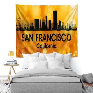 Artistic Wall Tapestry | Angelina Vick - City lll San Franscisco California