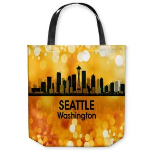 Unique Shoulder Bag Tote Bags | Angelina Vick - City lll Seattle Washington