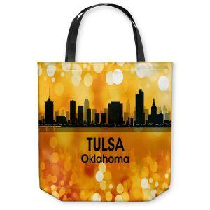 Unique Shoulder Bag Tote Bags   Angelina Vick - City lll Tulsa Oklahoma