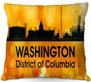 Throw Pillows Decorative Artistic   Angelina Vick - City lll Washington DC