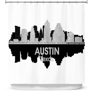 Premium Shower Curtains | Angelina Vick - City IV Austin Texas