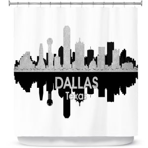 Premium Shower Curtains | Angelina Vick - City IV Dallas Texas