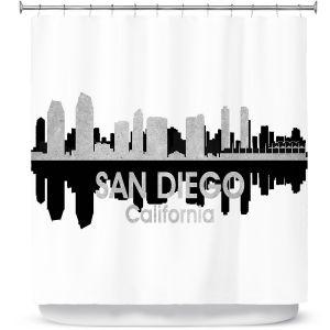Premium Shower Curtains | Angelina Vick - City IV San Antonio Texas