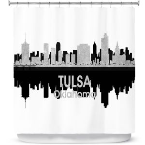 Premium Shower Curtains | Angelina Vick - City IV Seattle Washington