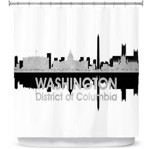 Premium Shower Curtains | Angelina Vick - City IV Tulsa Oklahoma