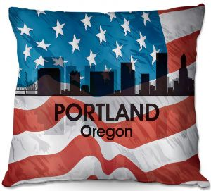 Throw Pillows Decorative Artistic | Angelina Vick - City VI Portland Oregon