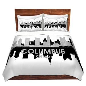 Artistic Duvet Covers and Shams Bedding | Angelina Vick - City IV Columbus Ohio