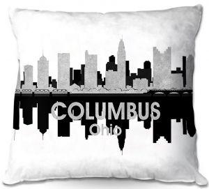 Throw Pillows Decorative Artistic   Angelina Vick - City IV Columbus Ohio