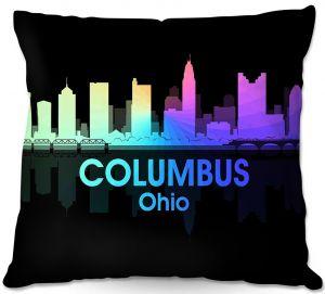 Decorative Outdoor Patio Pillow Cushion | Angelina Vick - City V Columbus Ohio