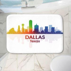 Decorative Bathroom Mats | Angelina Vick - City I Dallas Texas