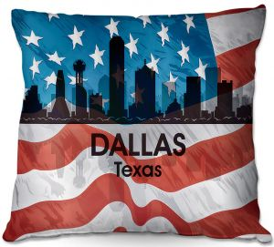 Throw Pillows Decorative Artistic | Angelina Vick - City VI Dallas Texas