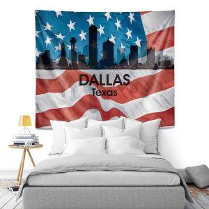 Artistic Wall Tapestry | Angelina Vick - City VI Dallas Texas