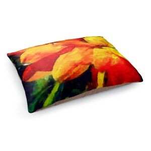 Decorative Dog Pet Beds | Angelina Vick - Dancing Daisy 4 | Flower close up