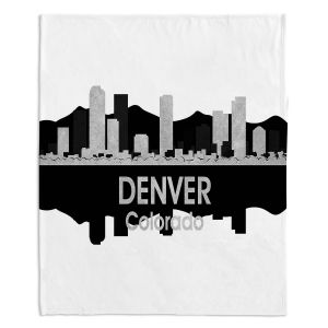 Artistic Sherpa Pile Blankets | Angelina Vick - City IV Denver Colorado