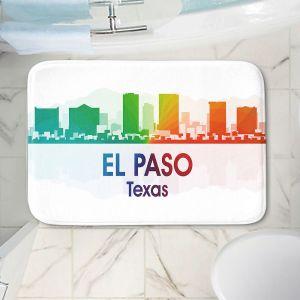 Decorative Bathroom Mats | Angelina Vick - City I El Paso Texas