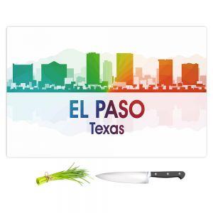 Artistic Kitchen Bar Cutting Boards | Angelina Vick - City I El Paso Texas