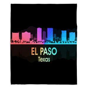 Decorative Fleece Throw Blankets | Angelina Vick - City V El Paso Texas