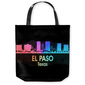 Unique Shoulder Bag Tote Bags | Angelina Vick - City V El Paso Texas