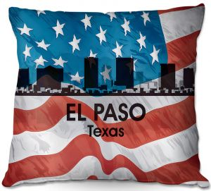 Throw Pillows Decorative Artistic | Angelina Vick - City VI El Paso Texas