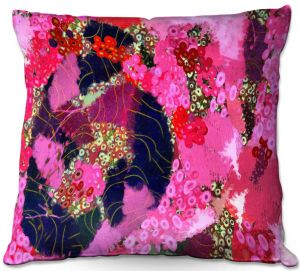 Unique Throw Pillows from DiaNoche Designs by Angelina Vick - Estrogen 3   16X16