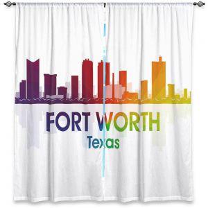 Decorative Window Treatments | Angelina Vick - City I Fort Worth Texas