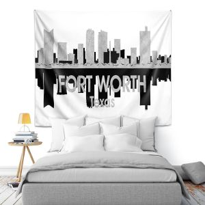 Artistic Wall Tapestry | Angelina Vick - City IV Fort Worth Texas
