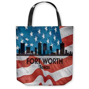 Unique Shoulder Bag Tote Bags |Angelina Vick - City VI Fort Worth Texas